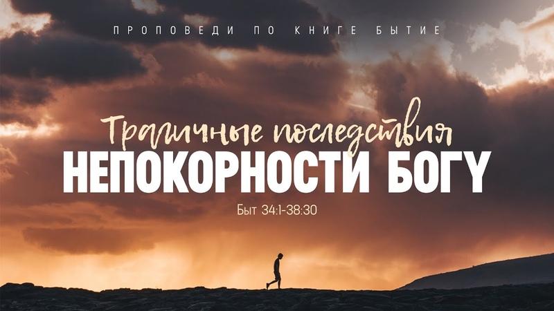 Бытие 57 Трагичные последствия непокорности Богу Алексей Коломийцев