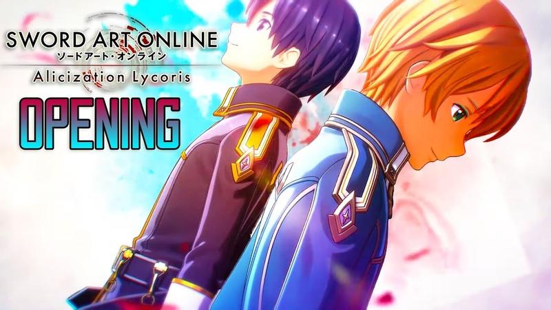Sword Art Online Alicization Lycoris Opening Scar Let by ReoNa