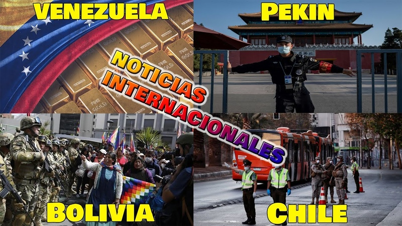 Noticias mundiales: Venezuela, China, COVID19, Bolivia, Chile