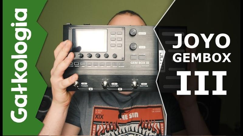 JOYO GEMBOX III Rozbudowany procesor do gitary