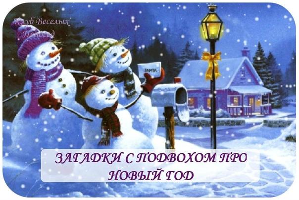 ЗАГАДКИ С ПОДВОХОМ ПРО НОВЫЙ ГОД 1. Много-много-много лет Дарит нам подарки Дед, Дарит елку, поздравленья, Этот праздник - полностью
