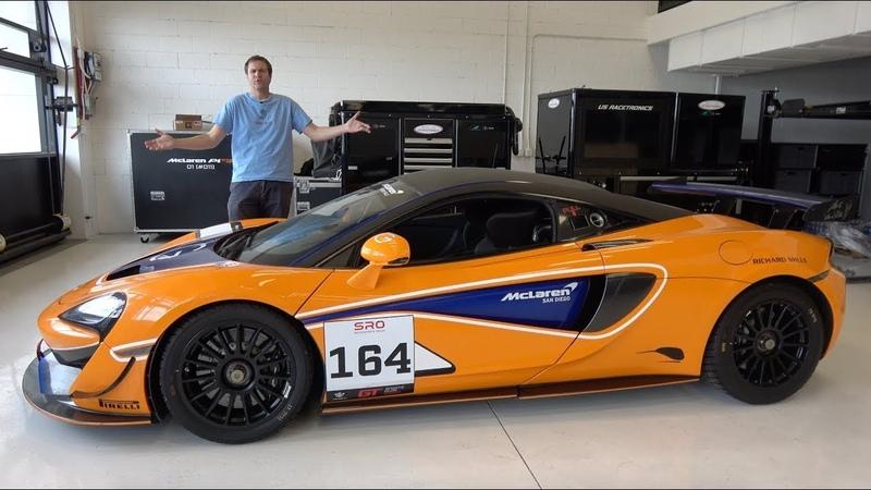 McLaren 570S GT4 это гоночная машина за $200 000 которую можно купить у дилера