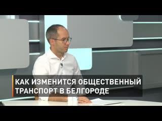 Как изменится общественный транспорт в Белгороде