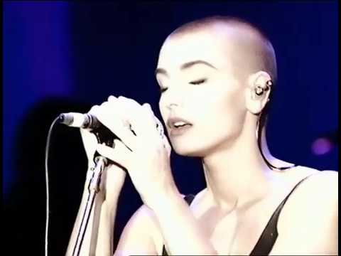 Sinéad O'Connor Nothing Compares 2 U Live In Europe 1990