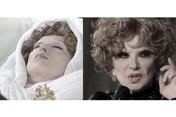 Легендарную актрису Людмилу Гурченко в прошлом году похоронили без отпевания