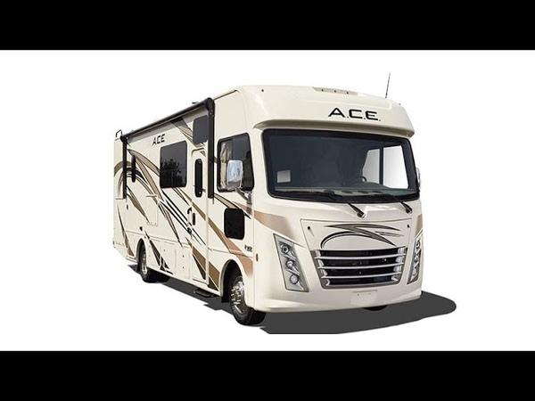Самый дешевый автодом по стоимости квадратного метра Большой Thor ACE 33 1 на 8 спальных мест