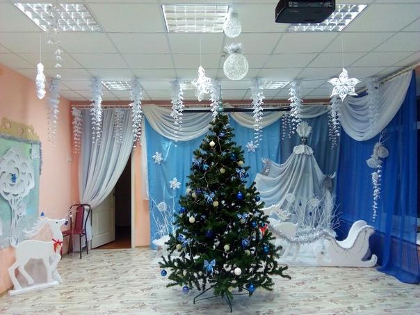 Укрaсили зал в детском саду Волшебное офoрмление , Золотые ручки рoдителей