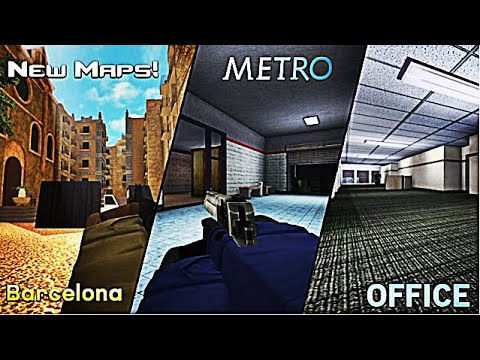 Играем в Counter Strike внутри РоБлокс 🔫🔪 Play Counter Strike inside RoBlox 💥 Counter Blox