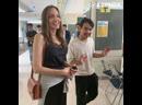 Анджелина Джоли со слезами проводила сына в университет