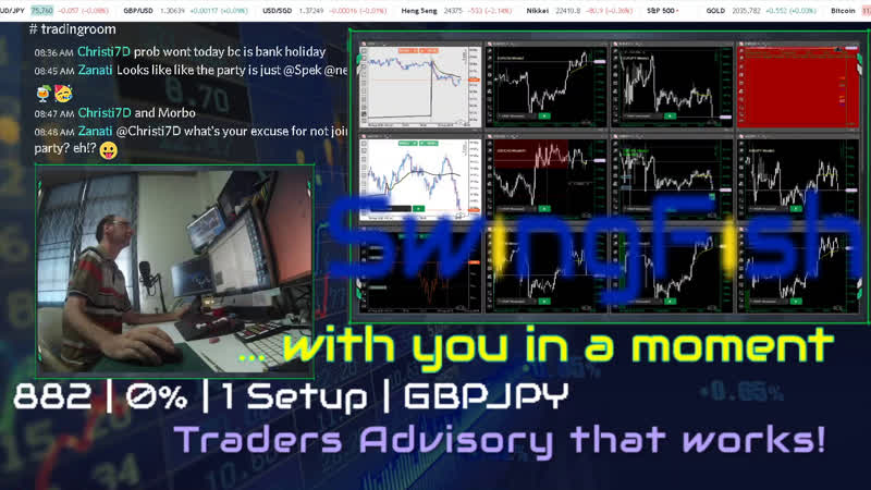Day Trading Forex LIVE Mon 10 Aug