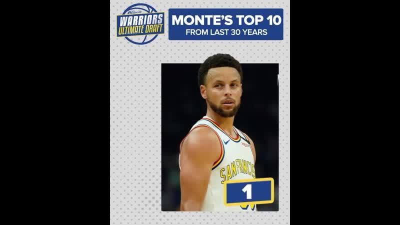 Топ 10 лучших игроков Уорриорз за последние 30 лет по версии Монти Пула