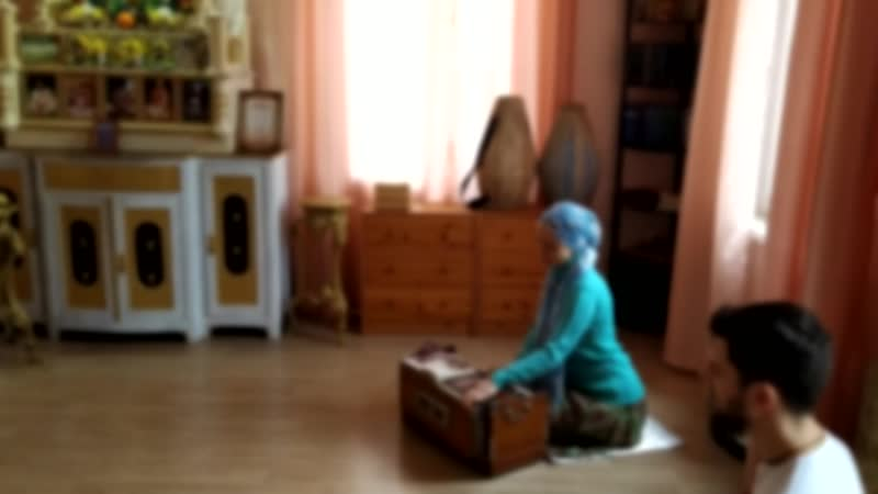 Древний ведический гимн Джая Радха Мадхава