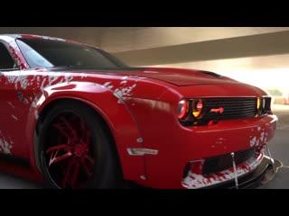 [Compilation] Belle Dodge Challenger Hellcat Liberty Walk Stance Squad