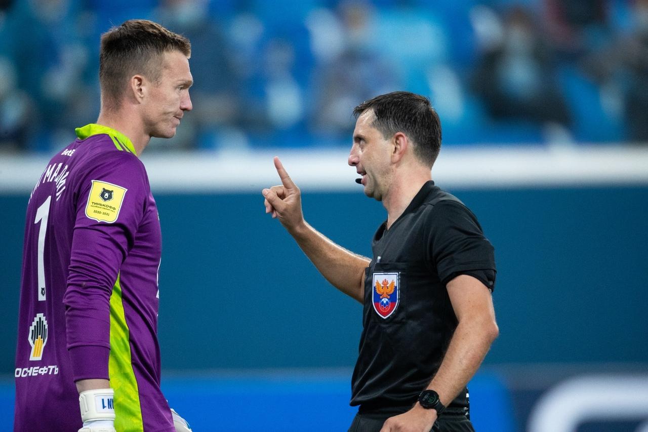Зенит - Арсенал Тула, 3:1. Арбитр Павел Кукуян