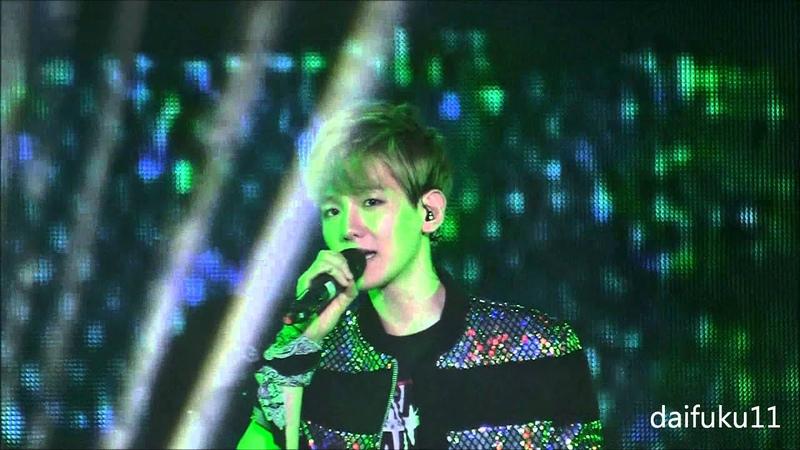 HD FANCAM 130526 EXO Baekhyun What Is Love