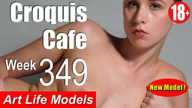 Croquis Cafe Figure Drawing Resource No. 349 Uncut (New Model)