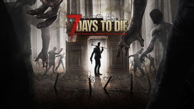 🔥СТРИМ ● 7 DAYS TO DIE АЛЬФА 19 ● Multiplayer Alpha 19 ● ФАРМИМ РЕСУРСЫ СТРОЙКА🔥