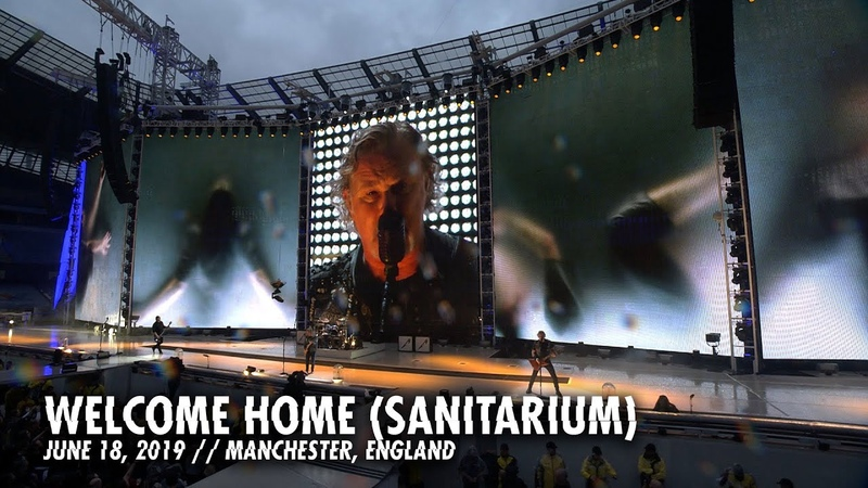 Metallica Welcome Home Sanitarium Manchester England June 18 2019