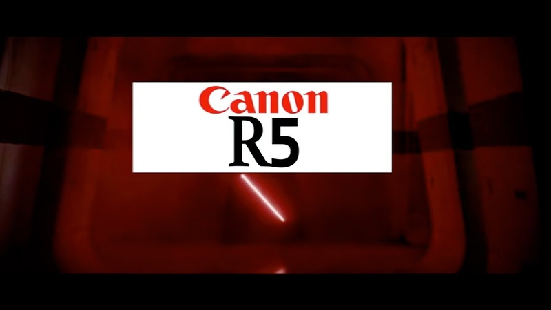Canon R5 Meets The Internet