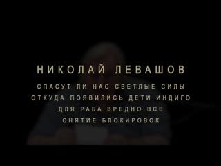 Н.Левашов- Спасут ли светлые силы наши души. Откуда появились дети индиго. Для раба вредно все