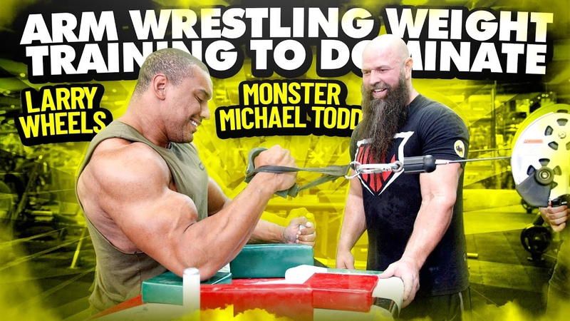 ARM WRESTLING WEIGHT TRAINING TO DOMINATE WITH MICHAEL TODD