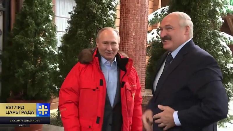 Батьке указали на его место Правительство Медведева пыхтело, но Лукашенко сказали нет