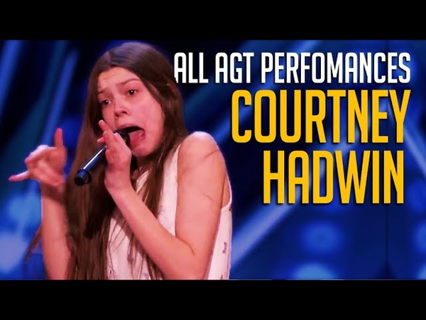 Courtney Hadwin ALL Performances On America's Got Talent And AGT Champions