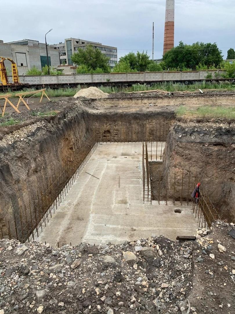 В Петровске продолжается реализация инвестиционного проекта по строительству зернового терминала