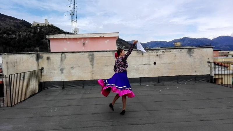 Danza casacca russa per fleshmob ITALIA BALLA