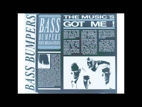 Bass Bumpers The Music's Got Me 1992 Charismatic Mix