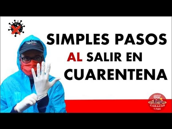 EN CUARENTENA SIMPLES PASOS AL SALIR DE CASA y AL LLEGAR LO QUE YO HAGO PARA DESINFECTAR TODO 2020