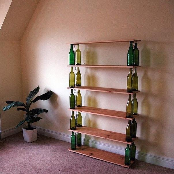 Что можно сделать из стеклянных бутылок (источник: gofazenda)