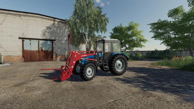 Погрузчик ПФН-0.9 новые колеса для версии МТЗ 1025.2