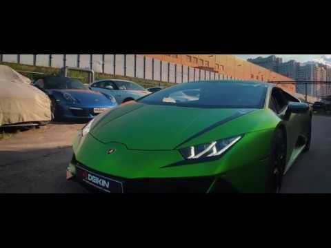 Lamborghini Huracan Evo titanium exhaust system by Deikin Exhaust