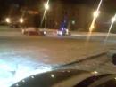 В Иркутске на сквере Кирова! Дрифт вокруг ментов