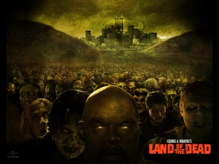 Фильмы Ужасов - Земля мертвых  (2005) Кино про Зомби