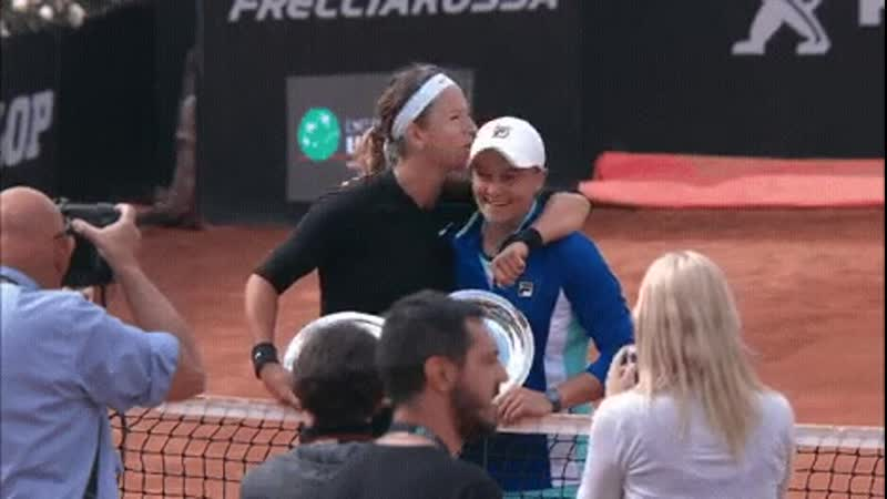 @vika7 and @ashbar96 claim the @InteBNLdItalia doubles title The unseeded duo win their first title together with a win ove