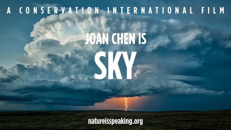 Nature Is Speaking Joan Chen is Sky | Conservation International (CI)