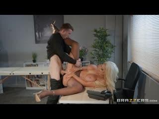 [Brazzers] Nicolette Shea Massaged On The Job(MILF,Blowjobs, Big Tits, Big Ass,High Heels,Pantyhose,Office)