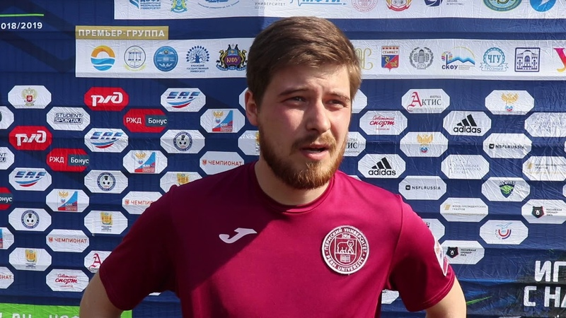Футболист ПГНИУ Дмитрий Сычев после матча ДВФУ - ПГНИУ (30)