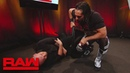 The Kingslayer Seth Rollins takes out Baron Corbin with a steel chair Raw June 17 2019