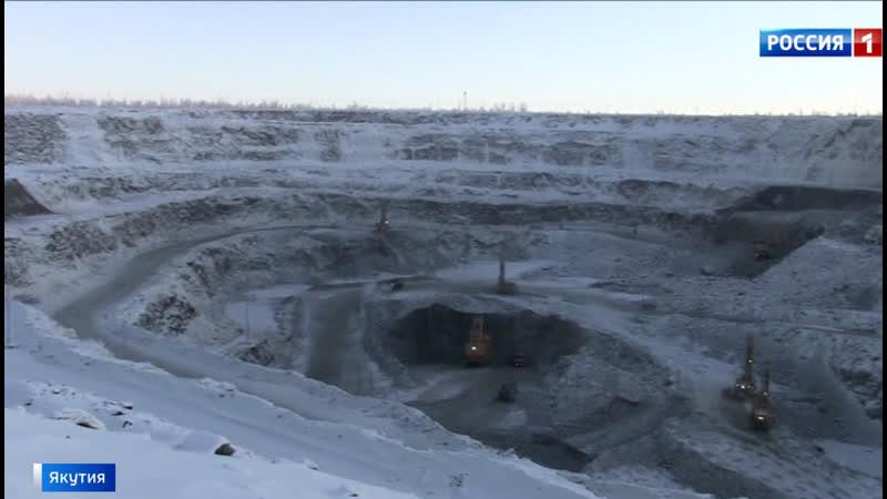 Спустя 3 года подготовки в Якутии открылось новое алмазное месторождение
