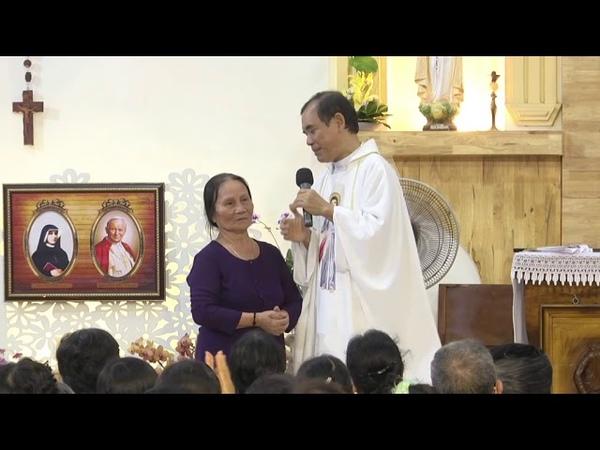 1 Cô Ở Đồng Nai Bị Bị Té Gãy Đốt Sống Và Đau Suốt 1 Tuần Lễ Được Chúa Thương Xót Chữa Lành