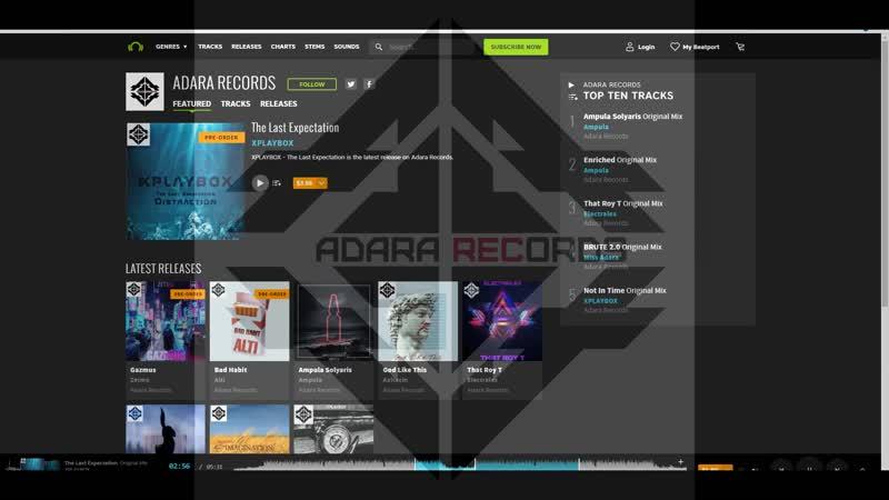 ADARA RECORDS Record label Promo