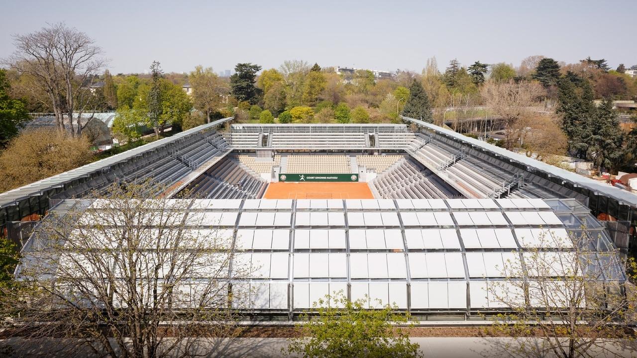 Стадион-теплица во Франции