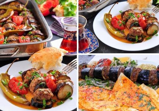 Турецкая кухня: Запеченный кебаб с баклажанами (Patlican ebabi ) Продолжаю наслаждаться баклажанами пока сезон...) Без всяких лишних слов и долгих предисловий, просто напишу, что это очень