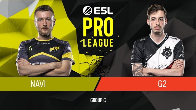 CSGO - Natus Vincere vs. G2 Esports [Overpass] Map 3 - Group C - ESL Pro League Season 9 Europe