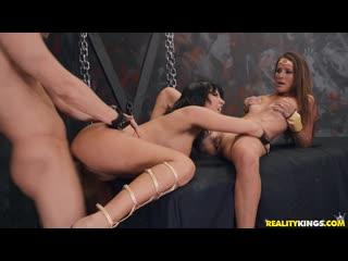 Lezley Zen, Sofie Marie - Dungeons & Milfs - Porno, All Sex MILF Big Tits Role Play Doggystyle, Porn, Порно