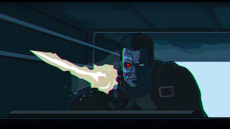 Terminator 2 and a half   Терминатор 2 с половиной