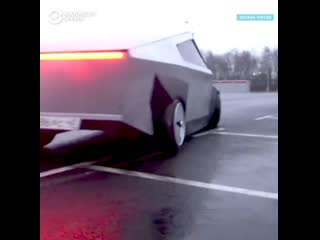 "Копия Tesla Cybertruck на базе ""девятки"""
